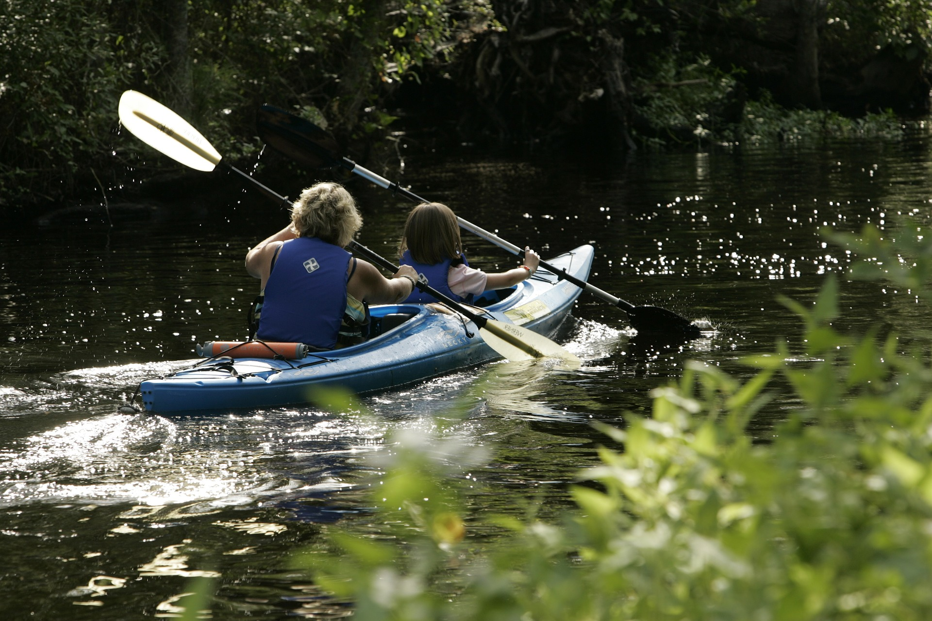 Kayaking on Crystal River