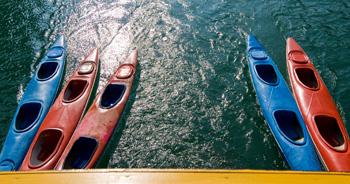 Kayaking at Crystal River